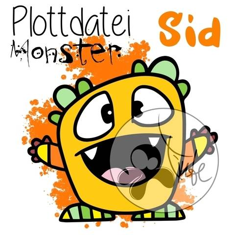 "Plottdatei Monster ""Sid"""