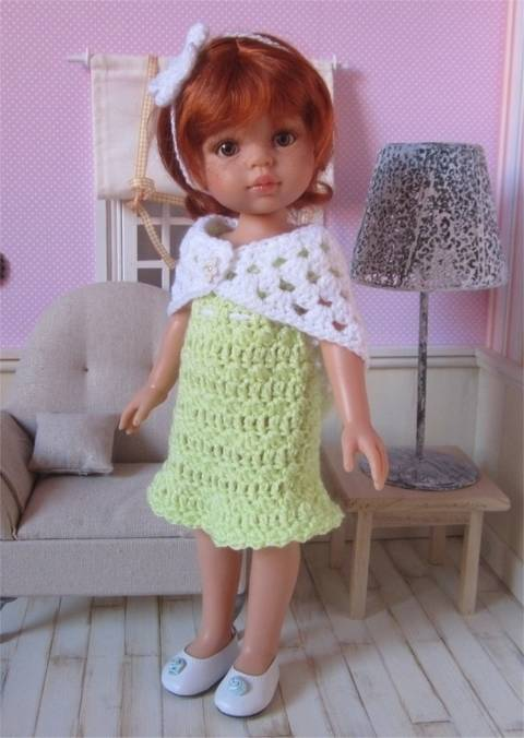 """""""Anaïs"""" for Paola Reina or Chérie Corolle doll at Makerist"""