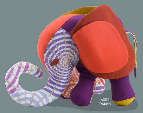 sewing PATTERN TUTORIAL ELEPHANT TEDDY 3D at Makerist