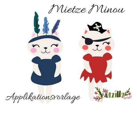 Applikationsvorlage Mietze Minou