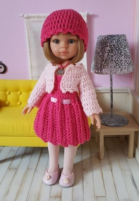 """""""Serena"""" for Paola Reina or Chérie Corolle doll at Makerist"""