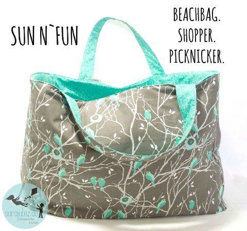 Sun n`Fun Beachbag.Shopper.Picknicker