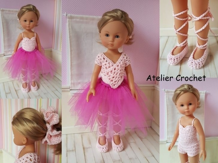 """Ballerina"" for Chérie Corolle or Paola Reina doll at Makerist - Image 1"