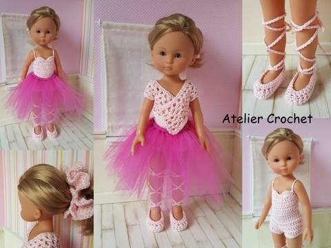 """""""Ballerina"""" for Chérie Corolle or Paola Reina doll at Makerist"""