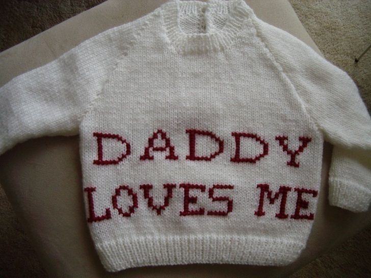 "Child's ""Daddy Loves Me"" jumper at Makerist - Image 1"