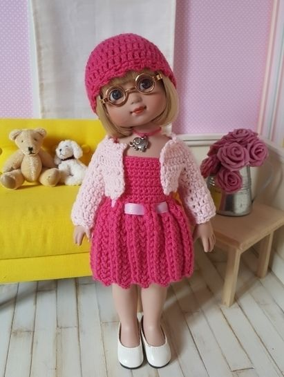 """Serena"" for Ann Estelle or Patsy doll at Makerist - Image 1"