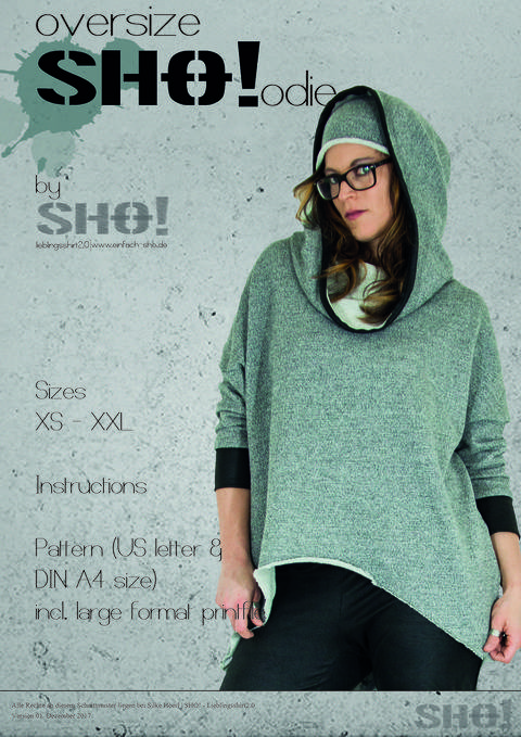 oversizeSHO!odie - an ovesized cut hoodie