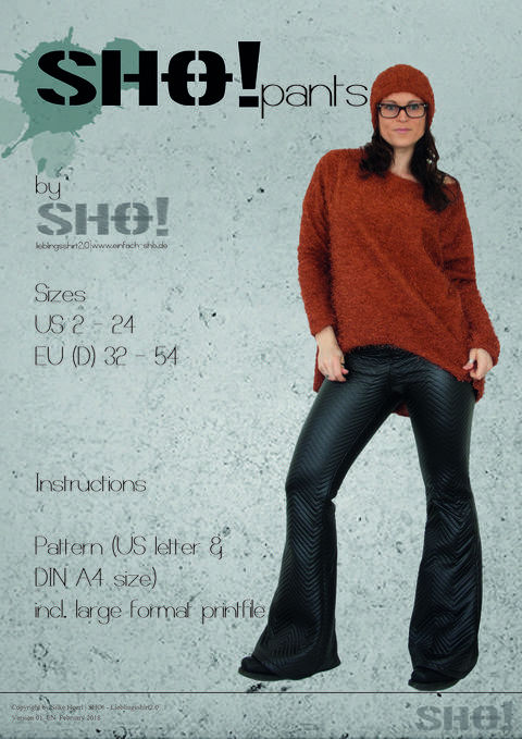 SHO!pants - a flared leg pants