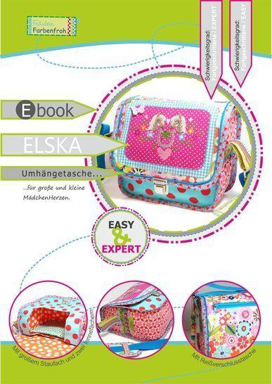ebook ELSKA ♥ ♥ ♥ Umhängetasche für Klein und Groß bei Makerist - Bild 1