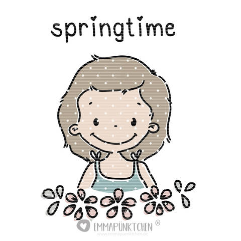emmapünktchen ® - lotta springtime plottdesign bei Makerist