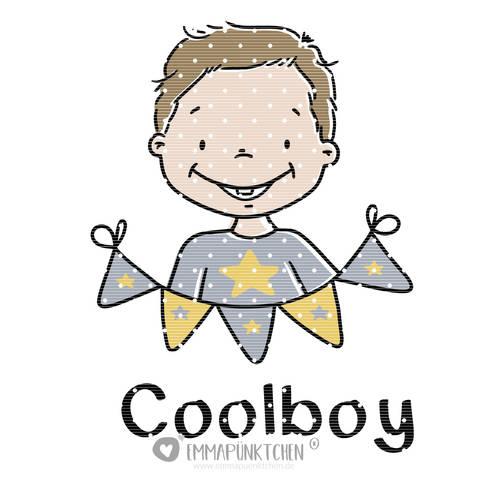 emmapünktchen ® - cool boy plottdesign