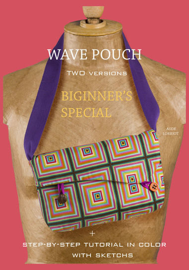 biginner's special wave pouch at Makerist - Image 1