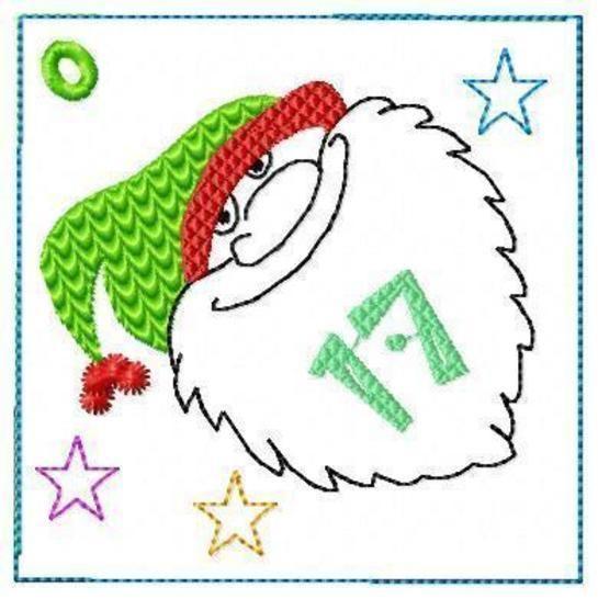 7 Motive Adventskalender ITH 10x10 bei Makerist - Bild 1
