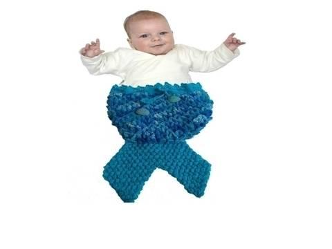 Meerjungfrauen Pucksack/Schlafsack Baby Style No.1