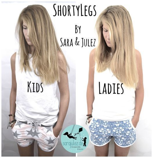 Kombi-Ebook ShortyLegs Kids & Ladies Shorts bei Makerist - Bild 1