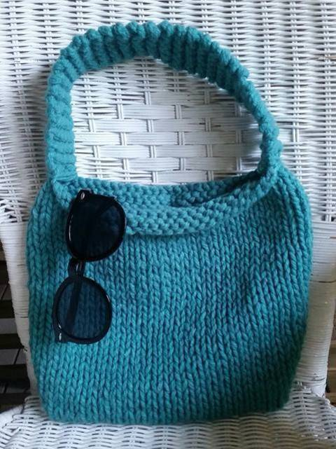 Knitted Bag - Knitting Pattern