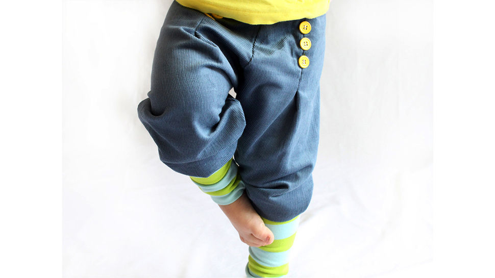 Karl Knopf baggy trousers size 2 years up to 14 years at Makerist - Image 1