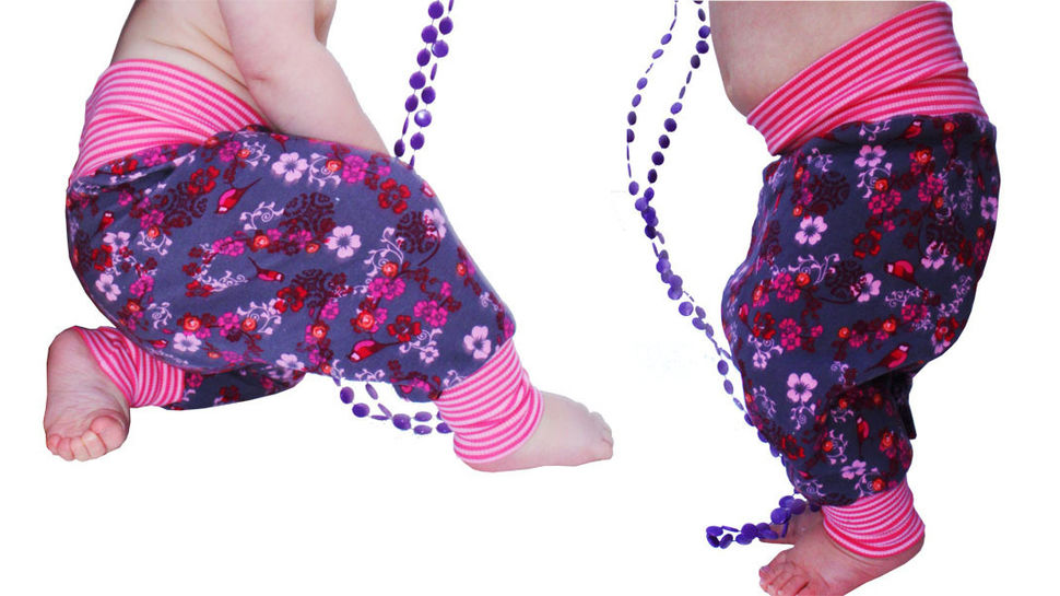 Baby Pants - Harem Pants (1month -3years) at Makerist - Image 1