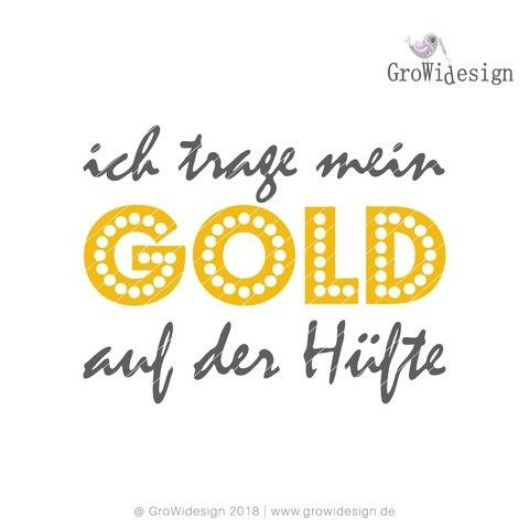Statement Hueftgold