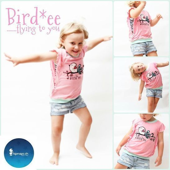 Ebook Bird*ee Top, detailed sewing instructions and pattern for kids & teens at Makerist - Image 1