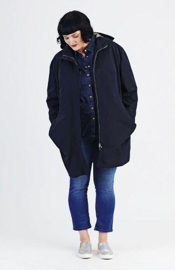 Parka Amy Plussize - Patron de couture et instruction avec des images chez Makerist - Image 1