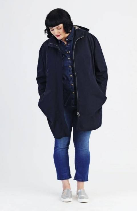 Parka Amy Plussize - Patron de couture et instruction avec des images chez Makerist