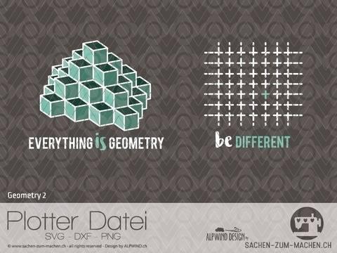 """Plotter-Datei """"Geometry"""" #2"""