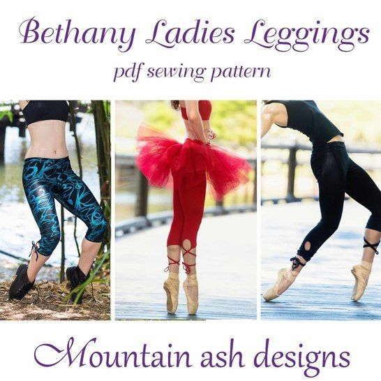 Bethany Ladies Strappy Keyhole Tutu Leggings at Makerist - Image 1