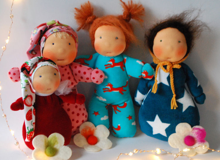 My first doll – 4 Pattern. at Makerist - Image 1