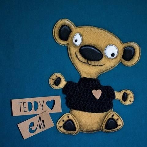 Spooky Teddy - Applikationsvorlage