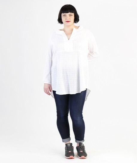 Katha tunique pour grandes tailles - Patron de couture et instruction en Allemand et en Anglais avec des images chez Makerist - Image 1