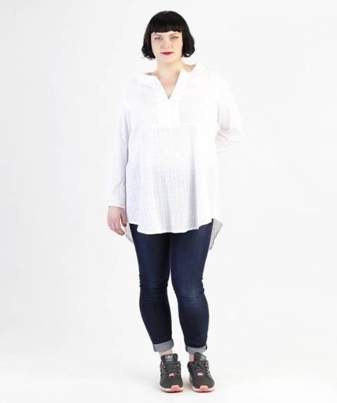 Katha tunique pour grandes tailles - Patron de couture et instruction en Allemand et en Anglais avec des images chez Makerist