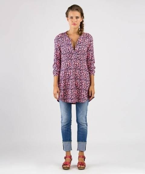 Katha tunique - Patron de couture et instruction en Allemand et en Anglais avec des images chez Makerist