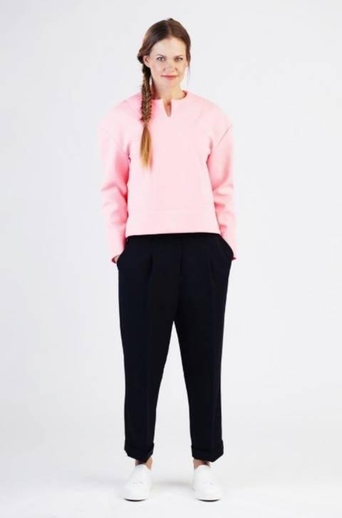 Betty oversized shirt - Patron de couture et instruction en Allemand et en Anglais chez Makerist