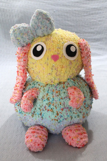 Binky The Knitted Bunny - Knitting Pattern at Makerist - Image 1
