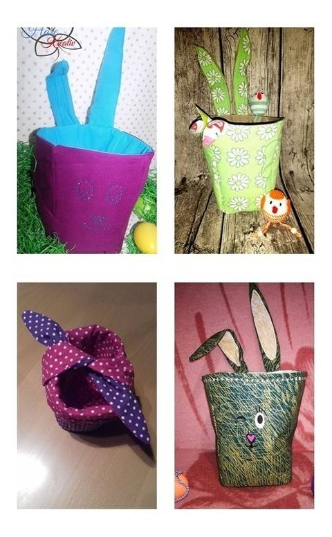 Poppi -Popcorn bag, Easter basket or Utensilio at Makerist