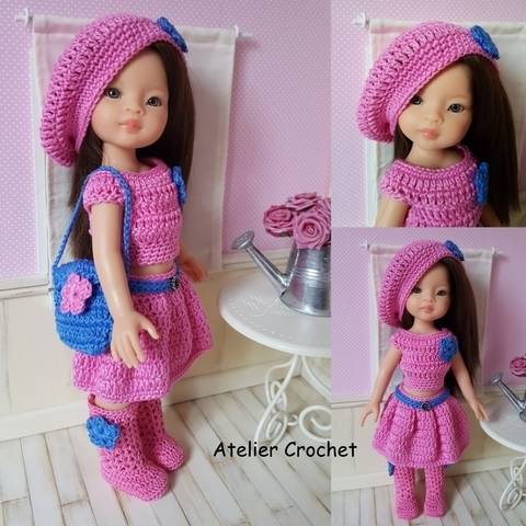 """""""Rosanna"""" for Paola Reina or Chérie Corolle doll at Makerist"""