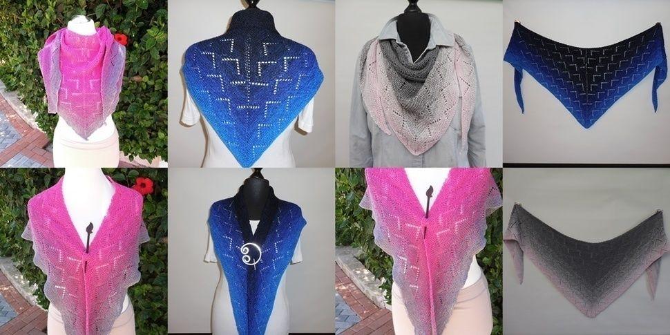 Ijoulios - triangular shawl at Makerist - Image 1