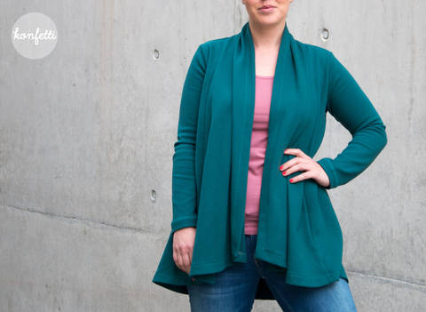 Adele - Cardigan Size 34 - 56 (S - 4XL or 6 - 28)