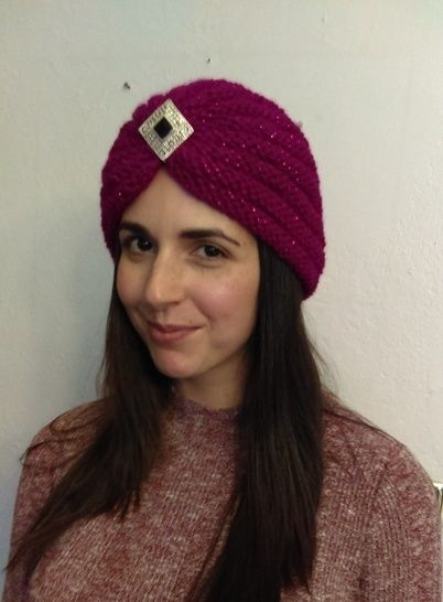 Berry Bling Turban- Knitting Pattern at Makerist - Image 1