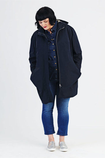 Coat Amy for plussizes - Sewing pattern and instruction with pictures at Makerist - Image 1