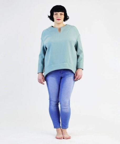 Betty Top / Shirt for plus-sizes - Sewing pattern and instructions at Makerist - Image 1