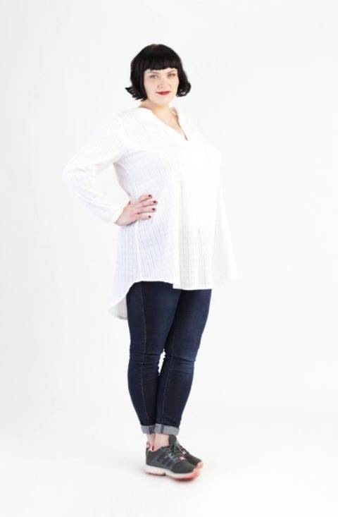 Tunic Katha for plus-sizes - Sewing pattern and instruction