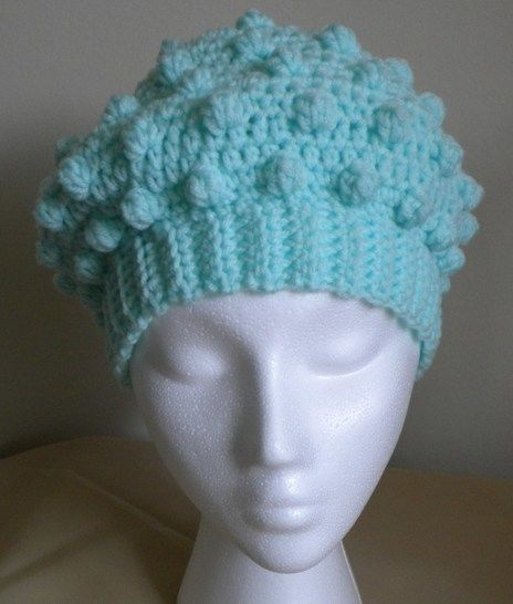 Bobble Hat- Crochet Pattern at Makerist - Image 1