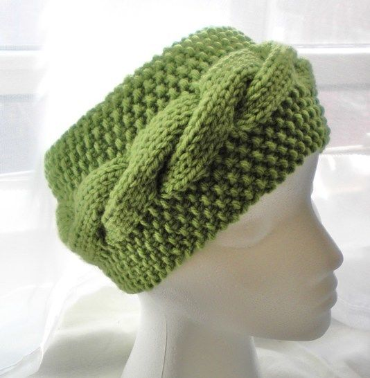 Cable Headband- Knitting Pattern at Makerist - Image 1