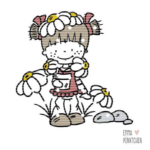 emmapünktchen ® - bobbie lillebo blümchen plotterdatei  bei Makerist