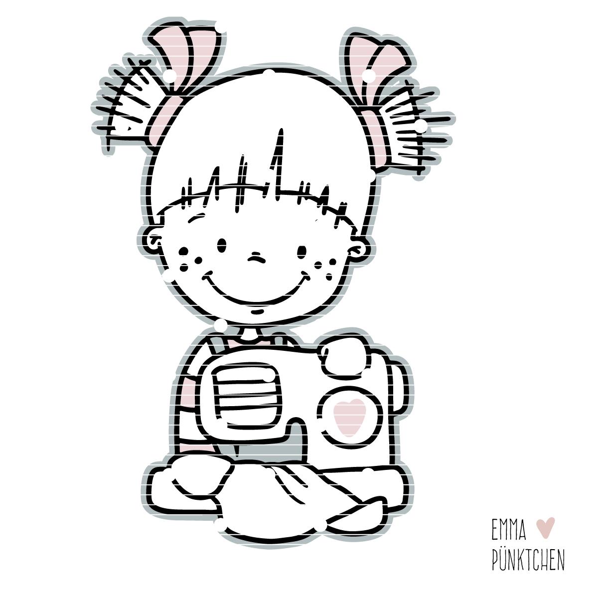 emmapünktchen ® - bobbie lillebo nähmaus plotterdatei ü