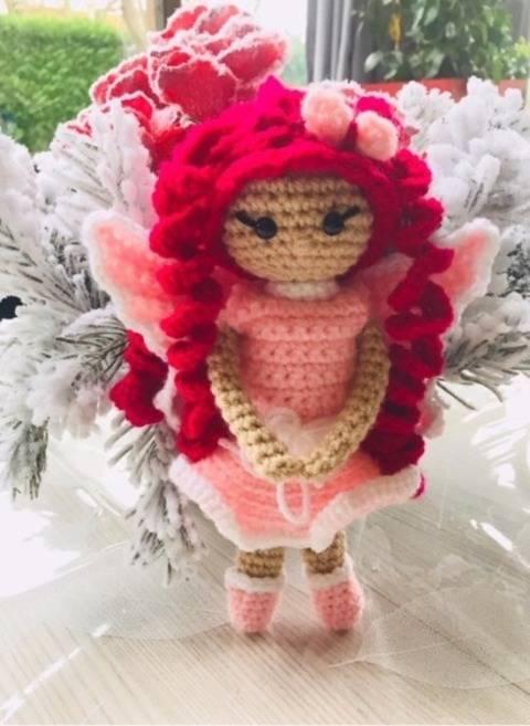 Tuto fée rosa crochet chez Makerist