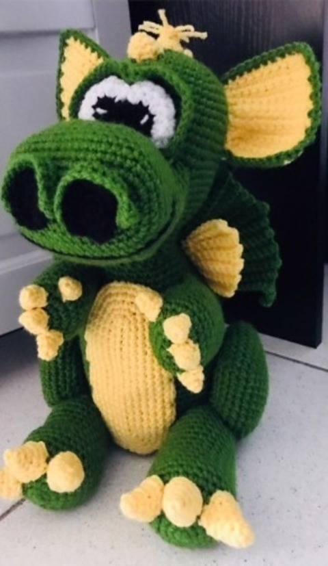 Tuto dragon crochet chez Makerist