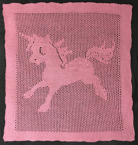 Baby Unicorn Blanket at Makerist